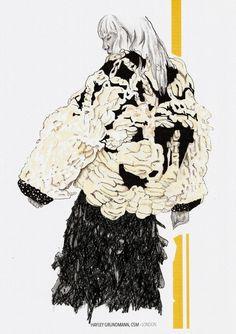 Super Ideas For Fashion Ilustration Croquis Student Portfolios Fashion Illustration Portfolio, Fashion Design Sketchbook, Fashion Design Portfolio, Fashion Design Drawings, Illustration Art, Art Portfolio, Art Sketchbook, Medical Illustration, Illustrations