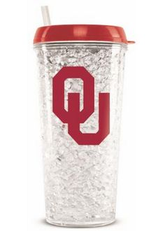 NCAA University of Oklahoma 20-Ounce Insulated Tumbler