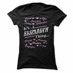 My names ELIZABETH - #tshirt couple #comfy sweatshirt. TAKE IT => https://www.sunfrog.com/LifeStyle/-My-names-ELIZABETH.html?68278