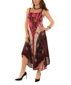 Another great find on #zulily! Pink & Black Sweetheart Dress - Plus #zulilyfinds