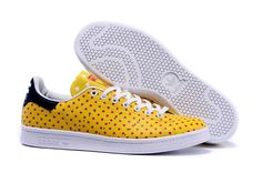 Adidas Pharrell Williams Stan Smith B25402 Unisex Trainers Polka Dot Casual Shoes