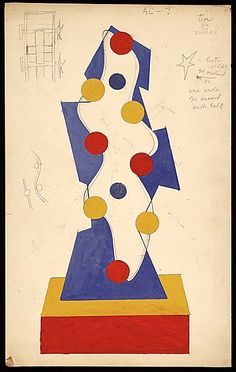 Charles Green Shaw gouache sketch for World's Fair motorized piece, ca. Charles Green Shaw papers, Archives of American Art, Smithsonian Institution. Abstract Painters, Abstract Art, Charles Green, Newspaper Art, Devine Design, Art Terms, Art Archive, World's Fair, Magazine Art