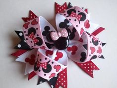 Disneys Minnie Mouse Big Boutique Valentines by DressUpJubilee