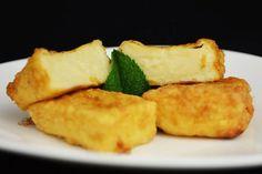 Finger Food Appetizers, Finger Foods, Cookie Desserts, Dessert Recipes, Fried Milk, Spanish Food, Spanish Recipes, Cannoli, Cornbread