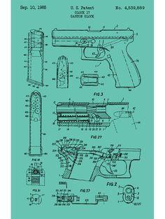 Glock 17 Handgun - G. Glock - 1985