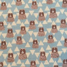 Modern quilting fabrics from a beautiful range of designers including Art Gallery, Cloud Cotton and Steel, Dear Stella, Robert Kaufman fabrics and many more. Geometric Bear, Cloud 9, Art Gallery, Kids Rugs, Quilts, Blanket, Sewing, Bears, Blue