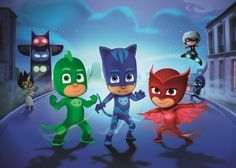 PJ MASKS Edible Image birthday Party Cake Topper cupcake Personalized wafer