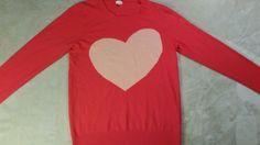 Women's J.crew heart  cardigan size s lightweight  #JCrew #Cardigan