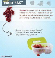 Summer fruit fact. #fridgesmart