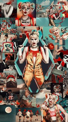Did u watch this movie i loved a lot Harley And Joker Love, Harley Quinn Cosplay, Joker And Harley Quinn, Arlequina Margot Robbie, Margot Robbie Harley Quinn, Joker Wallpapers, Cute Wallpapers, Disney Tapete, Harey Quinn