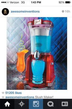 Slushy Maker ❤️ I want one...