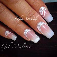 #Wedding Lace #nails #nailart