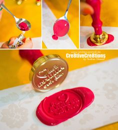 Wax Letter Seal Love ... I love using Wax Seals in my Mixed Media Projects, on Scrapbook Layouts, Tags, Cards - and of course when sending out Happymail :) Here are some Tipps on using Wax Seals & I show you my favourite Wax Drops & Seal Stamps ...