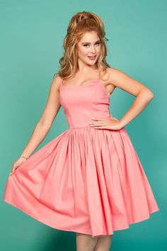 e0b61fb2dc9 Pinup Couture Jenny Dress in Baby Pink