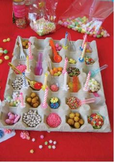 Saliere deco table anniversaire could make these like old paper fortune tellers misc for Bougies decoration table
