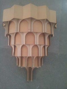 Islamic architecture: muqarna in a column