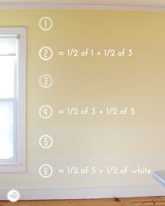 DIY Ombre Feature Wall - Paint Combinations