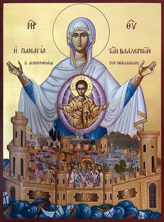Orthodox Catholic, Catholic Art, Byzantine Icons, Byzantine Art, Religious Icons, Religious Art, Faith Of Our Fathers, Church Icon, Jesus Art