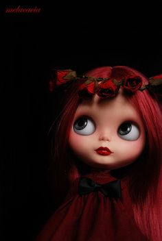 Valentina, Mel's most recent OOAK doll.