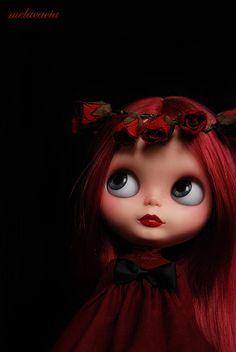 Valentina, Mel's most recent OOAK doll.