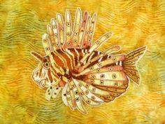 eleanor pigman | Eleanor Pigman: Seed Bead Lion Fish