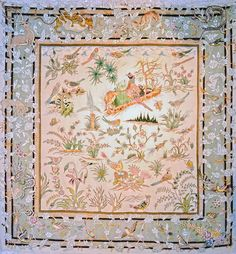 Tabriz Silk Persian Rug | Exclusive collection of rugs and tableau rugs - Treasure Gallery Tabriz Silk Persian Rug You pay: $5,500.00 Retail Price: $14,500.00 You Save: 62% ($9,000.00) Item#: CS105 Category: Small(3x5-5x8) Persian Rugs Design: Hunting Size: 200 x 200 (cm)      6' 6 x 6' 6 (ft) Origin: Persian, Tabriz Foundation: Silk Material: Wool & Silk Weave: 100% Hand Woven Age: Vintage KPSI: 550