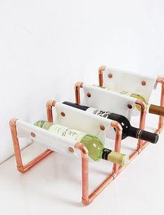14 Unique Wine Storage Ideas We Can Raise a Glass To via Brit + Co