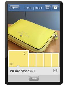 Color Capture App  Take a picture of anything anywhere and find the matching Benjamin Moore paint color!!