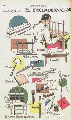 El taller de Lieschen: Los oficios. El encuadernador