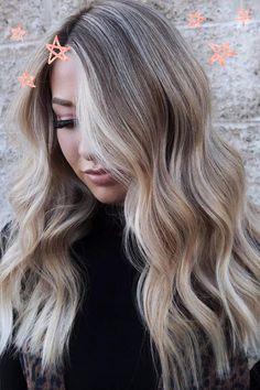 Blonde Balayage, Blonde Highlights, Ash Blonde, Fall Blonde Hair, Real Human Hair Extensions, Hair Images, Great Hair, Hair Looks, New Hair