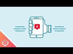 Inkscape Tutorial: Mobile Alert Design - YouTube