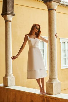 Famous Fashion Blogger, Evelyn Kazantzoglou travels in Hydra Island, Greece with Lynne! Unique Outfits, Greece, White Dress, Feminine, Island, Clothes, Shopping, Collection, Dresses