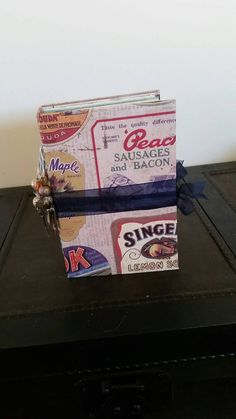 Your place to buy and sell all things handmade Index Cards, Mini Foods, Sticky Notes, Junk Journal, Booklet, I Shop, Favorite Recipes, Writing, Handmade
