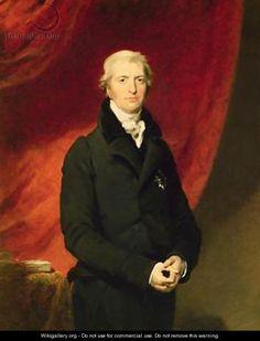 Robert Banks Jenkinson 2nd Earl of Liverpool 1770-1828 - Sir Thomas Lawrence