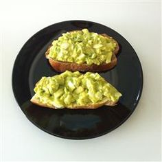 """Avocado Egg Salad 