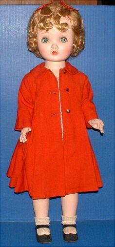 "Madame Alexander 25"" Binnie Walker Doll Antique Dolls, Vintage Dolls, Beautiful Dolls, Beautiful Outfits, Doll Toys, Baby Dolls, Vintage Madame Alexander Dolls, New Dolls, Hello Dolly"
