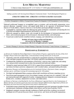 Fancy Athletic Director Resume 40 On Sample Resume With Athletic Director  Resume