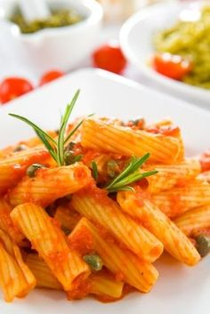 the most simplest of pasta recipes....arrabiata penne