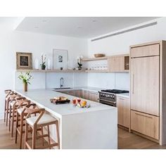 Our recently completed Chelsea Kitchen in NYC is featured on @houzz ! Check out the article for inspiring kitchens that rock wood cabinets. And yes, you can get a bright and open kitchen without white cabinets:  http://www.houzz.com/ideabooks/87143807
