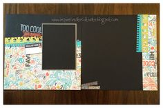 Inspire. Create. Cultivate.: August Layout Workshop #ChalkItUp #D1555AllTheDetails #Artbooking