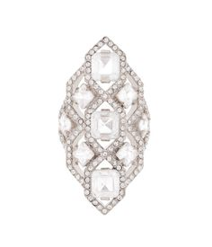 Classic Diamond Cocktail Ring | Products | Henri Bendel