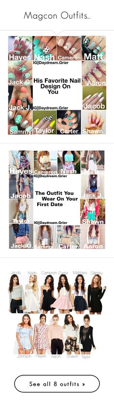 """""""Magcon Outfits.."""" by miss-mendes-magcon ❤ liked on Polyvore featuring YouTubers, LoveIt, CameronDallas, viners, Arrogant Cat, Nasty Gal, Honey Punch, Motel, One Rad Girl and Forever 21"""