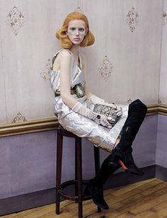 Jessie Bloemendaal & Lisa Helene Kramer in Vogue Italia September 2016 by Michael Baumgarten