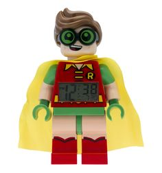 Batman Movie Robin Minifigure Clock | David Jones
