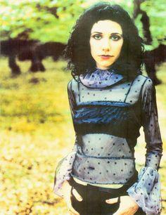pj harvey translucent blouse