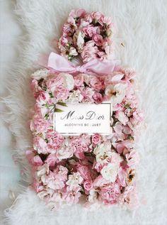miss dior bottle roses Pink Glitter Background, Megan Hess, Miss Dior, Color Rosa, Flower Boxes, Pink Roses, Flower Art, Pretty In Pink, Floral Arrangements