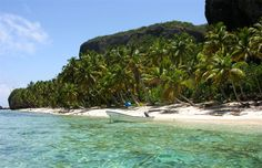 Playa Fronton - A must see during your vacation in Las Galeras