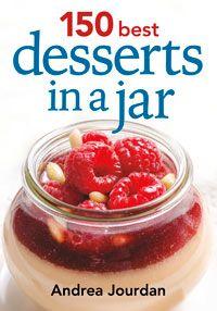 Desserts in a mason jar.