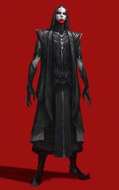 by Yang Liu Fantasy Character Design, Character Design Inspiration, Character Concept, Concept Art, Star Citizen, Fantasy Armor, Dark Fantasy Art, Alien Character, Character Art