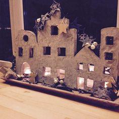 Weihnachtliche Plattenbauten – Beton, die Zweite